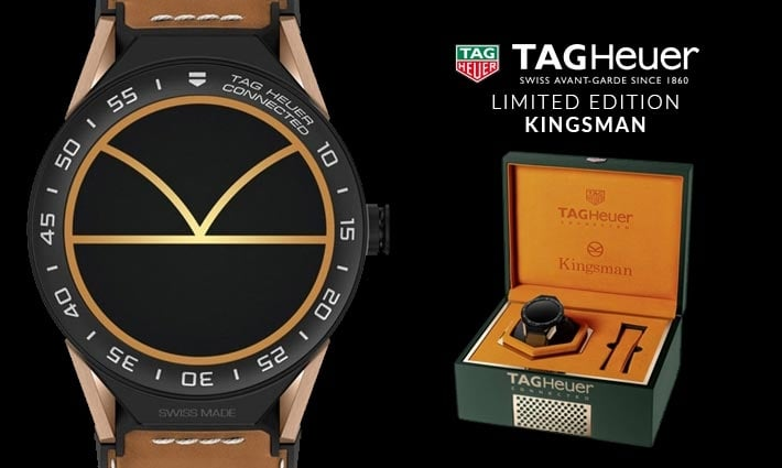 Men's TAG Heuer KINGSMAN Limited Edition Connected II Watch - Shop Now