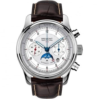Men's Bremont 1918 Centenary Anniversary RAF Chronometer Leather Watch - Shop Now