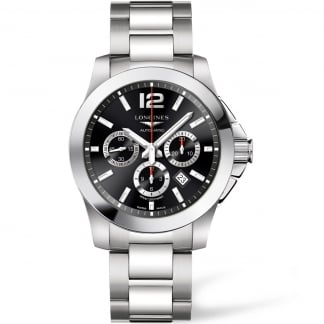 Conquest Column-Wheel Chronograph Men's Automatic Watch