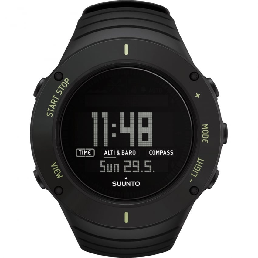 Suunto Core Ultimate Black Triple Sensor Watch SS021371000