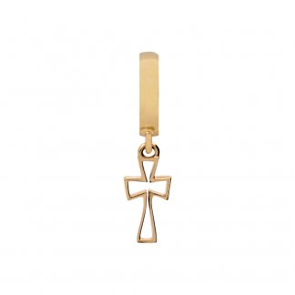 Cross Gold Charm