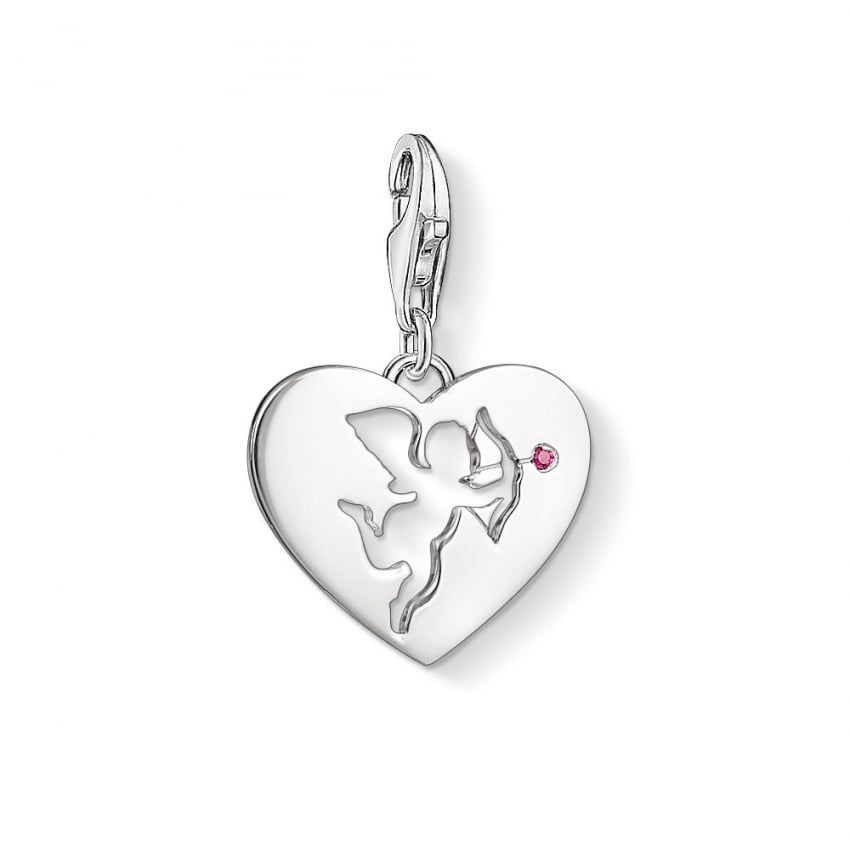 Thomas Sabo Cut Out Cupid Charm 1382-011-10