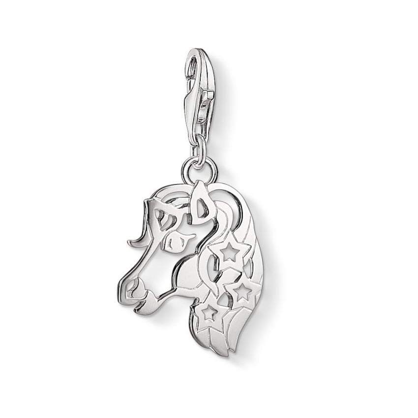 Thomas Sabo Cut Out Unicorn Charm 1394-001-12