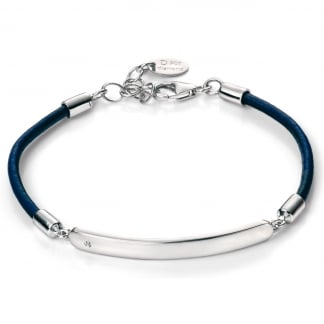 Blue Cord ID Bracelet B4786
