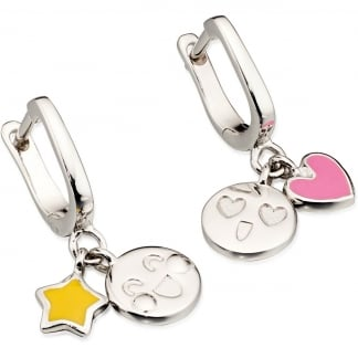 Emoticon Dangle Earrings