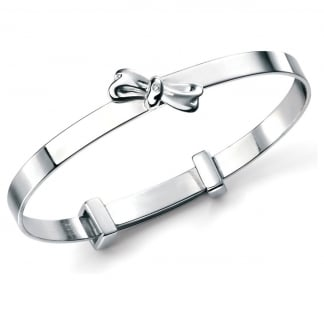 Girl's Bow Bangle B4781