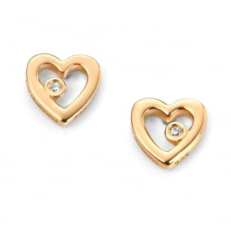 Girl's Heart Earrings E5153