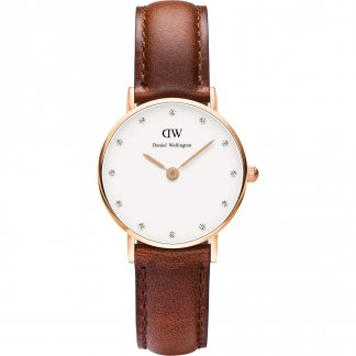 Ladies 26mm Classy St Mawes Rose Strap Watch 0900DW