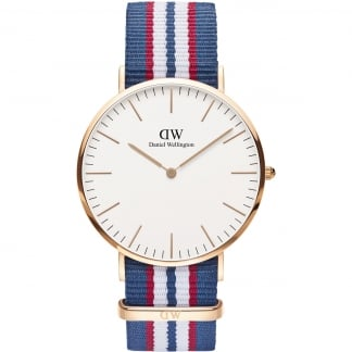 Men's Classic Belfast Rose Gold 40mm Watch