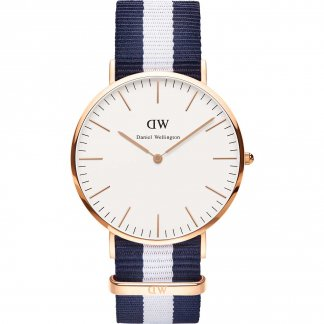 Men's Classic Glasgow Rose Gold 40mm Watch 0104DW