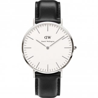 Men's Classic Sheffield Silver 40mm Watch 0206DW