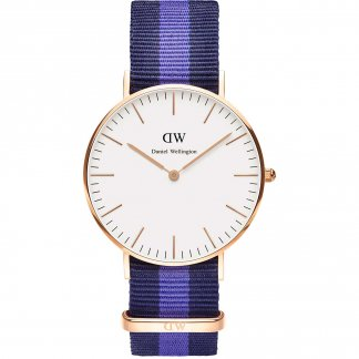 Mid-Sized Swansea Rose Gold 36mm Watch 0504DW