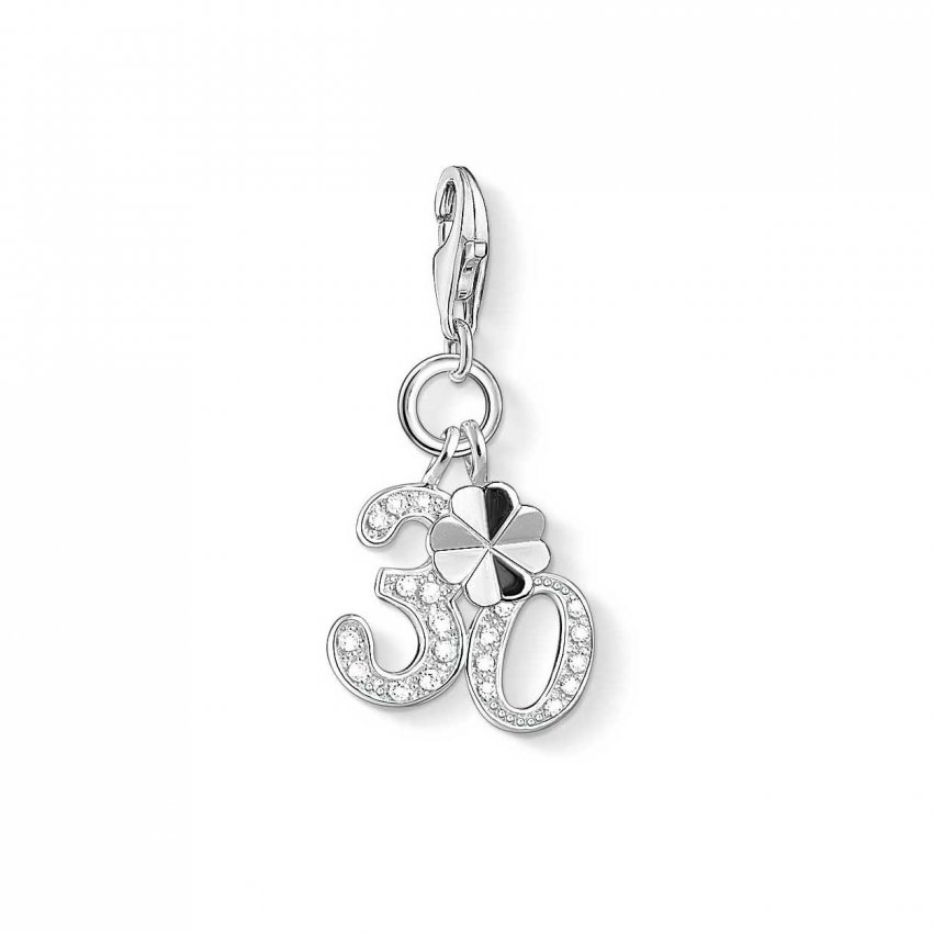 Thomas Sabo Dazzling 30th Birthday Charm 1237-051-14