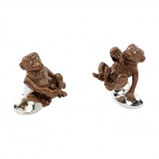 Cheeky Monkey Cufflinks C1483X0002