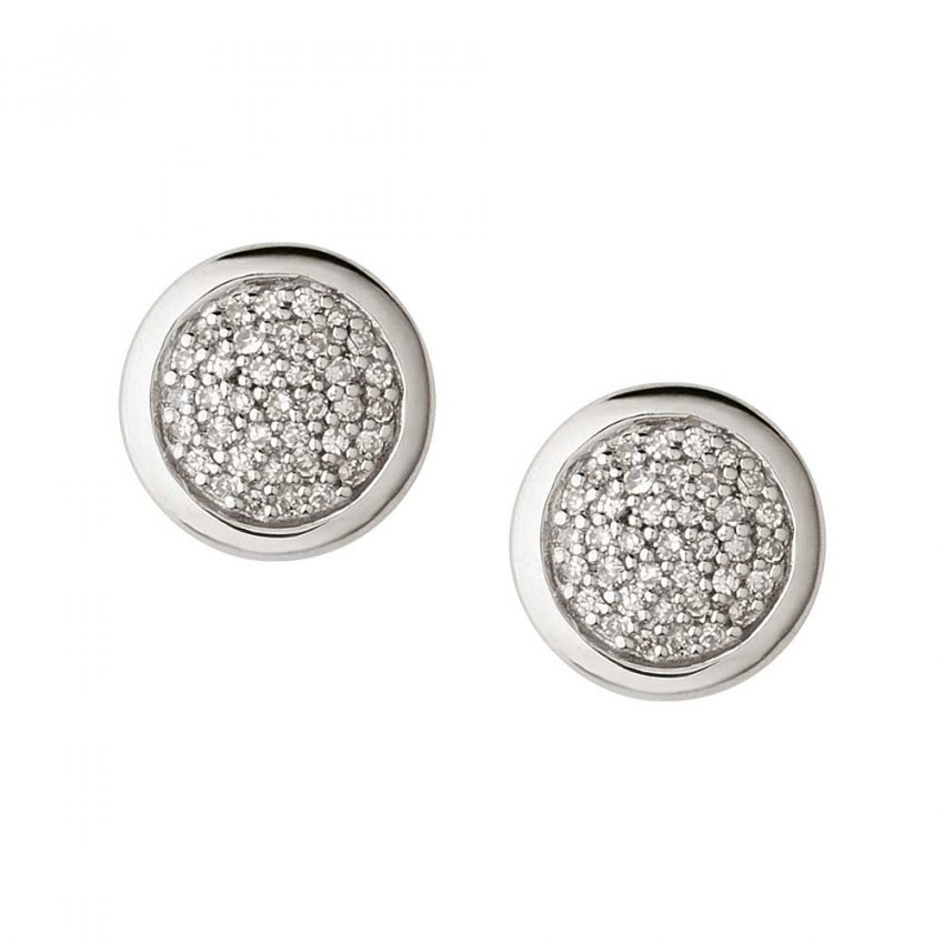 Links of London Diamond Essential Round Stud Earrings 5040.2407