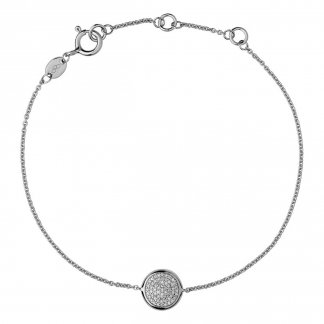 Diamond Pave Disc Bracelet 5010.2843