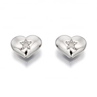 Diamond Set Mini Suri Girl's Earrings