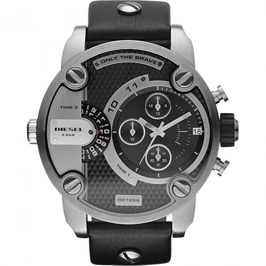 Diesel Dual Time Baby Daddy Chronograph Watch DZ7256