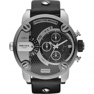 Dual Time Baby Daddy Chronograph Watch DZ7256
