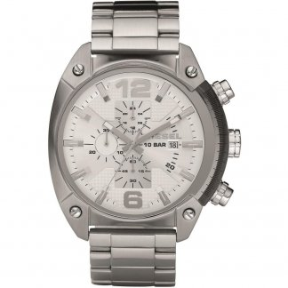 Men's All Steel Overflow Chronograph Watch DZ4203