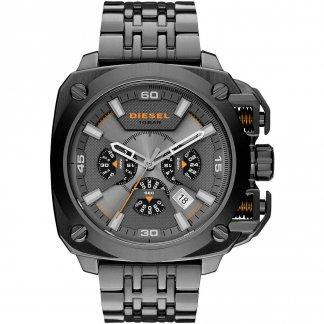 Men's Bamf Chronograph Gunmetal Bracelet Watch DZ7344