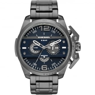 Men's Black Ion Plated Ironside Watch