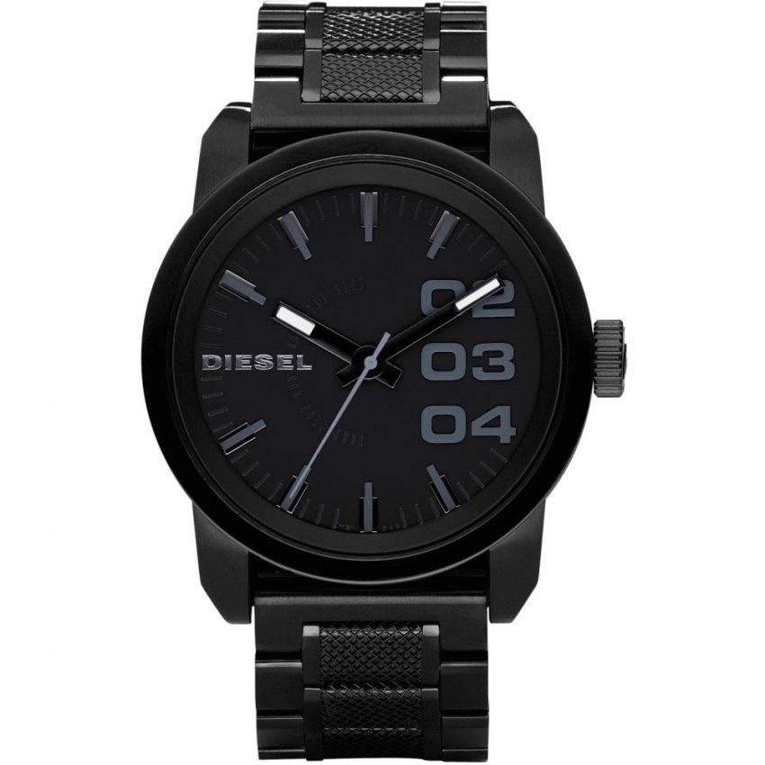 Diesel Men's Black PVD Franchise Watch DZ1371