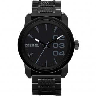 Men's Black PVD Franchise Watch