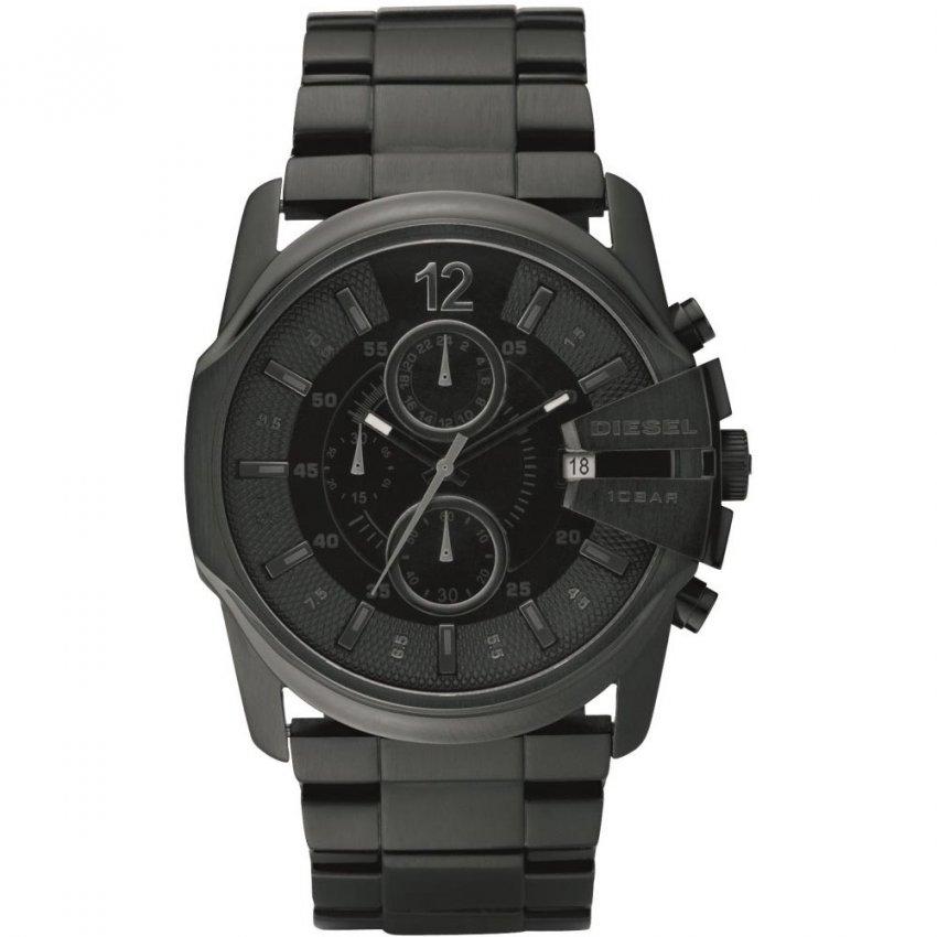 Diesel Men's Blackout Chronograph Watch DZ4180