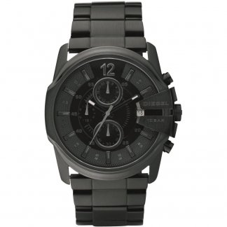 Men's Blackout Chronograph Watch
