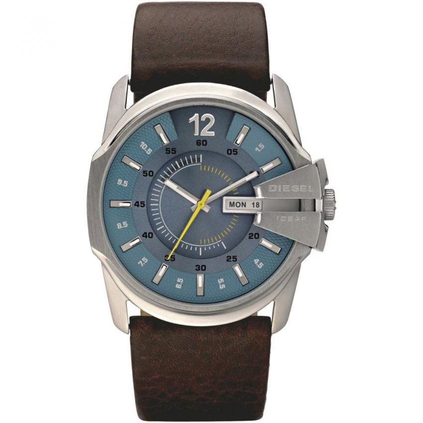 Men's Blue Dial Day & Date Goose Watch DZ1399