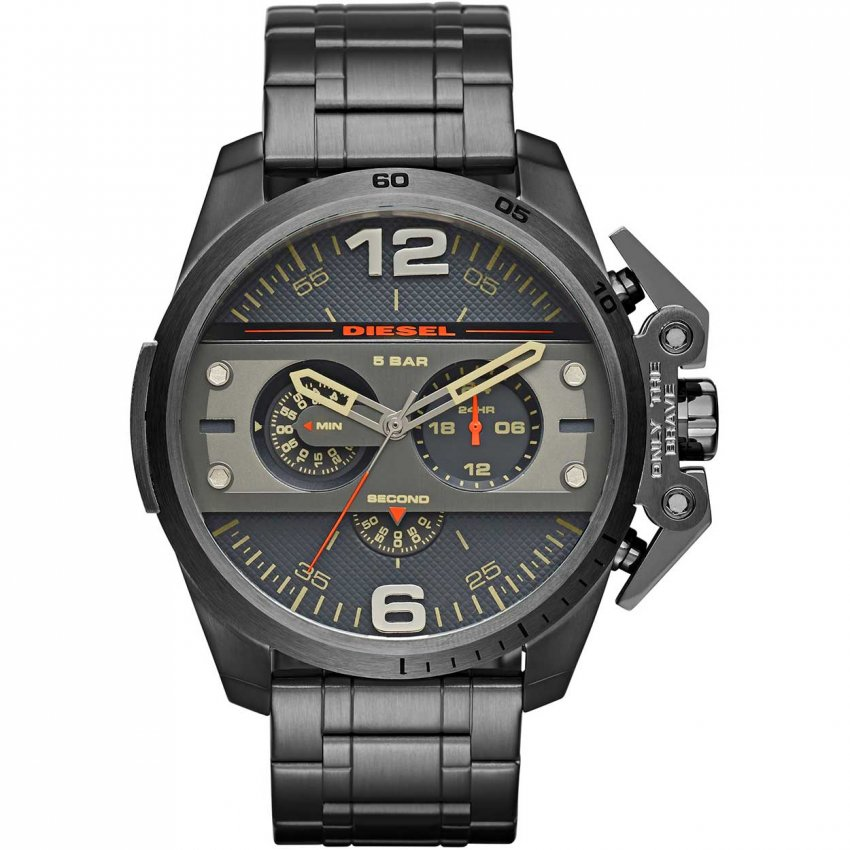 Men's Ironside Chronograph Gunmetal Bracelet Watch DZ4363