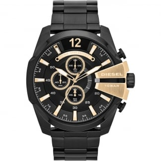 Men's Mega Chief Black PVD Chronograph Watch