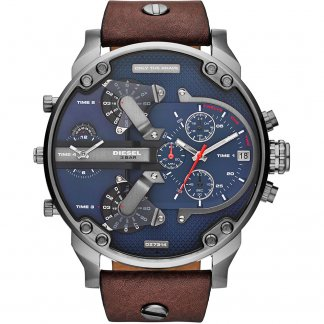 Men's Oversized Daddy 2.0 Blue Dial Watch
