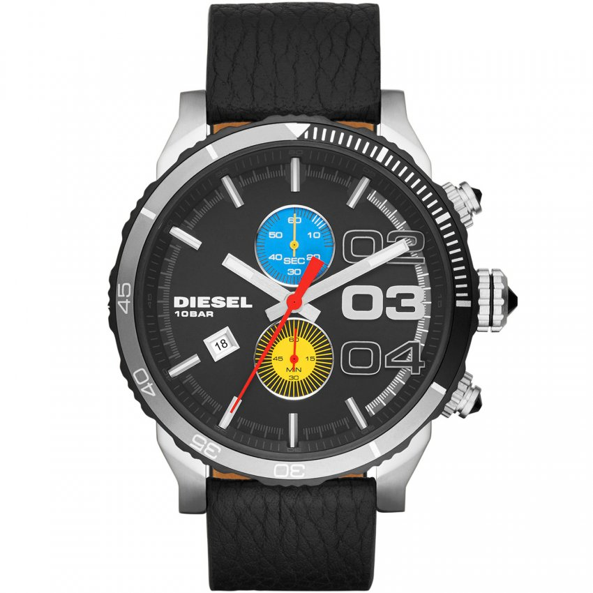 Diesel Men's Renzo Edition Double Down Chronograph Watch DZ4331