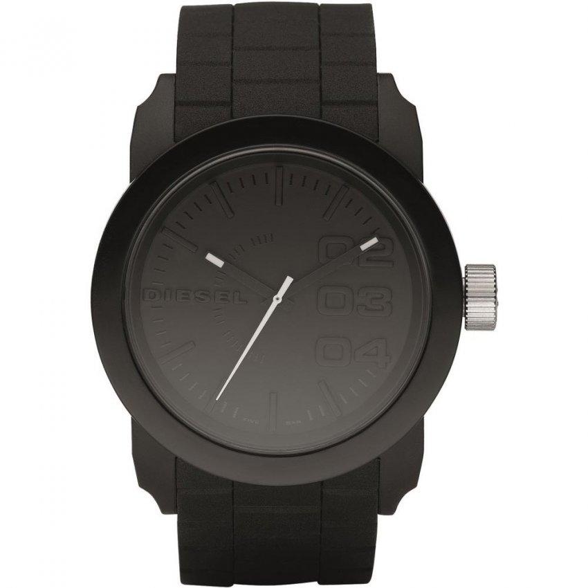 Diesel Unisex Black Resin Strap Franchise Watch DZ1437