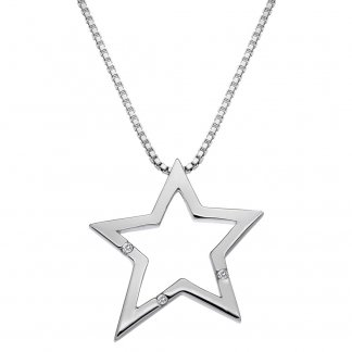 Distinctive Silver Star Pendant
