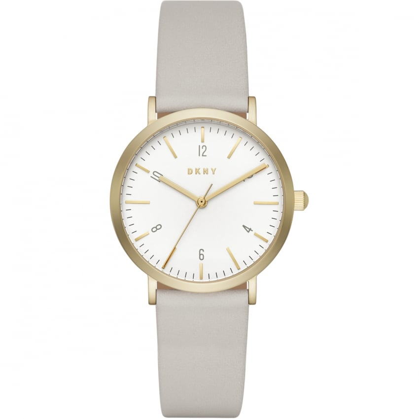 Ladies Minetta Nude Leather Strap Watch NY2507