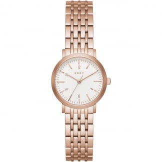 Ladies Mini Minetta Rose Gold Bracelet Watch NY2511
