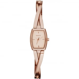 Ladies Rose Gold Crosswalk Watch NY2314