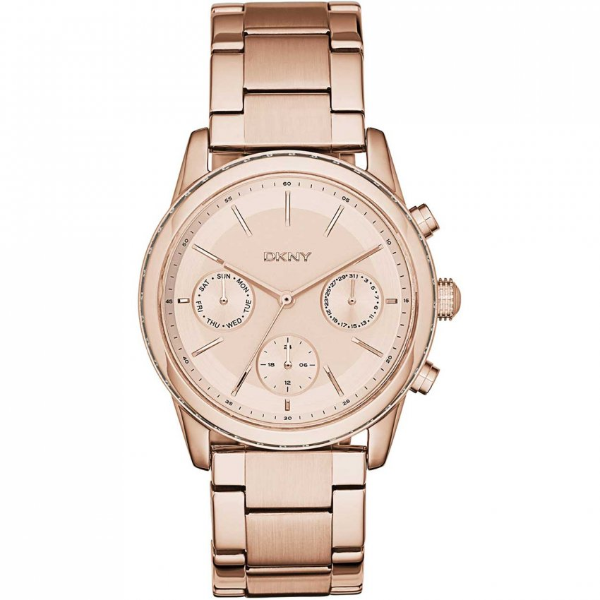 dkny gold plated rockaway watches from