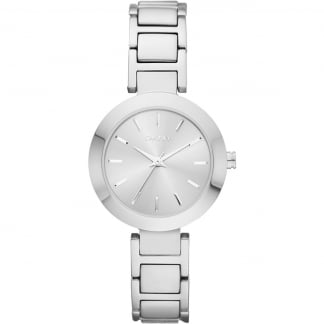 Ladies Silver Bracelet Stanhope Watch NY2398