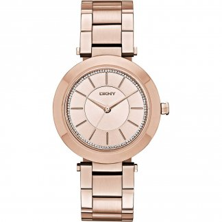 Ladies Stanhope 2.0 Glitzy Rose Gold Watch NY2287