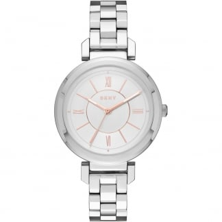 Ladies Steel with Rose Gold Detail Ellington Watch
