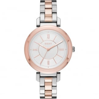 Ladies Two Tone Ellington Watch NY2585