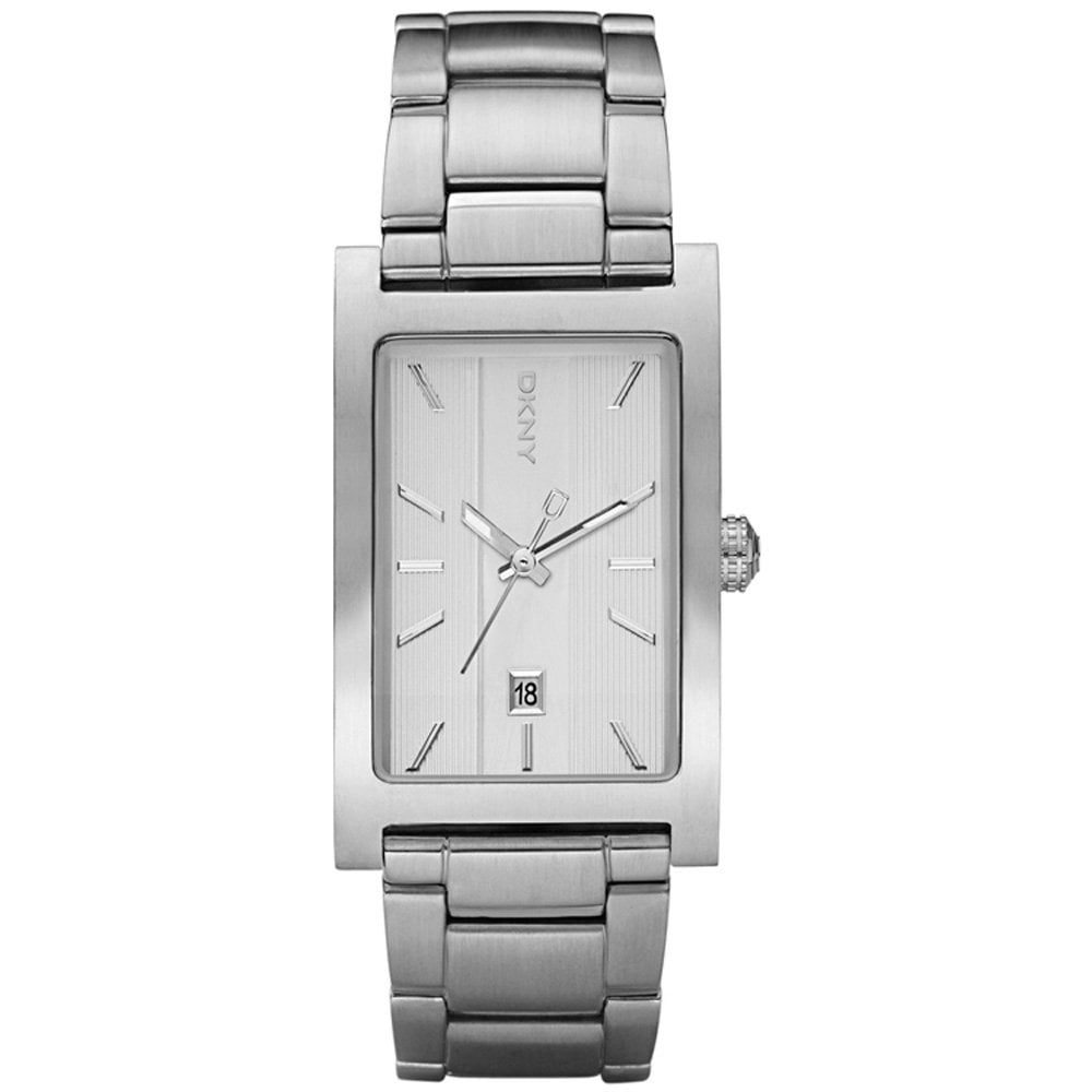 dkny ny1473 watch francis gaye jewellers dkny men s silver rectangle steel bracelet watch ny1473