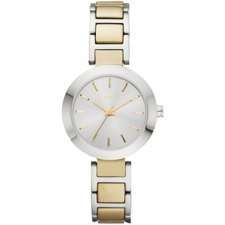 Two Tone Ladies Stanhope Watch NY2401
