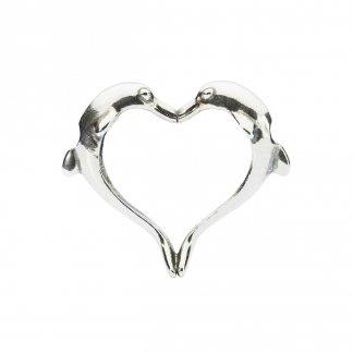Dolphin's Heart Pendant 11914