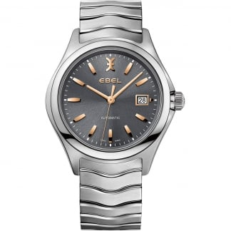Men's Wave Automatic Anthracite Dial Watch