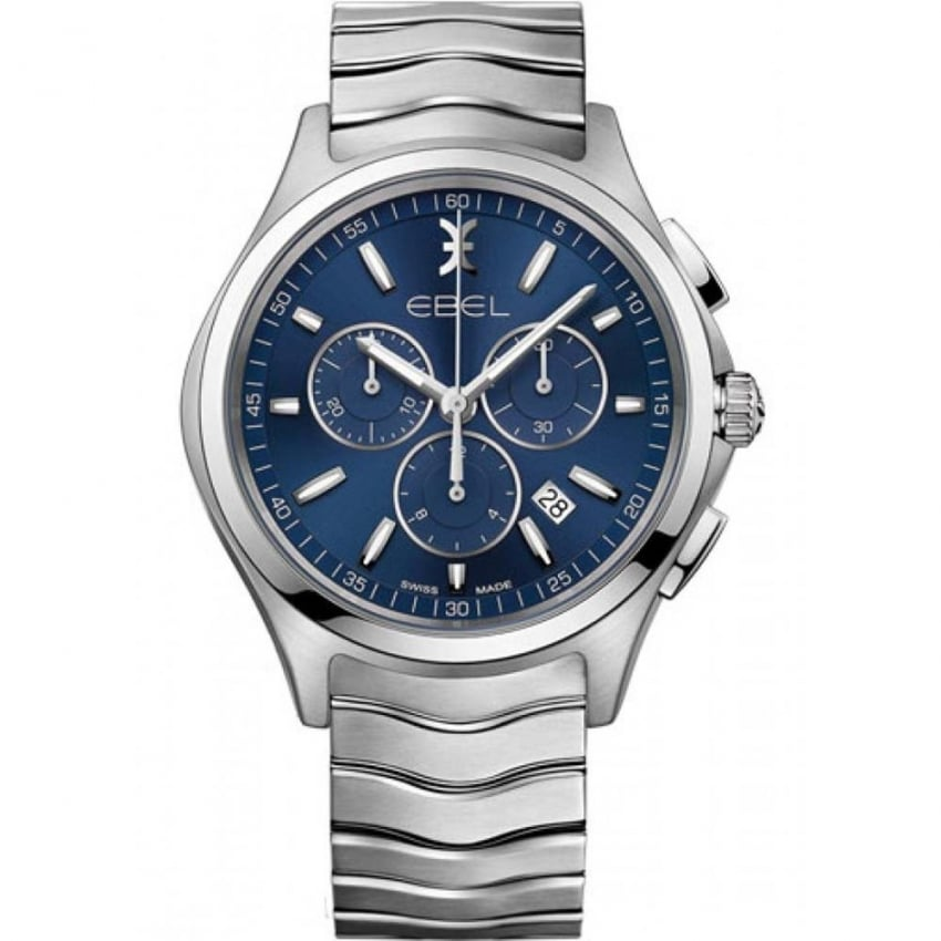 ebel s wave quartz chronograph watches from